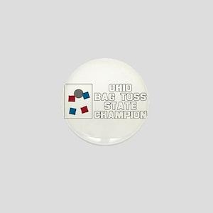 Ohio Bag Toss State Champion Mini Button