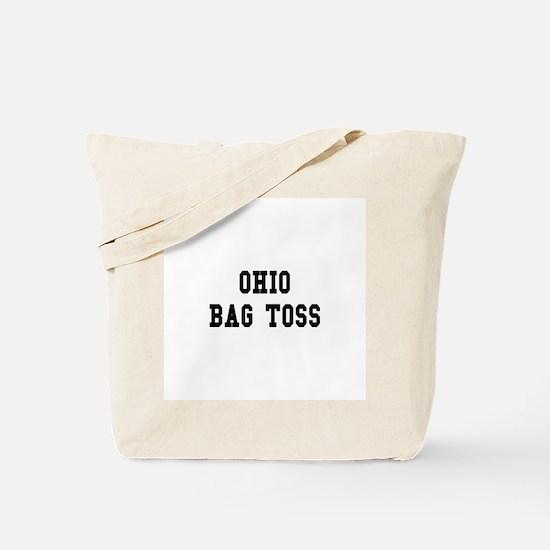 Ohio Bag Toss Tote Bag