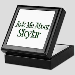 Ask Me About Skylar Keepsake Box