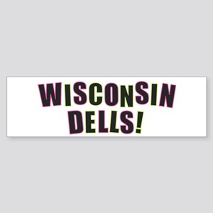 Wisconsin Dells Bumper Sticker