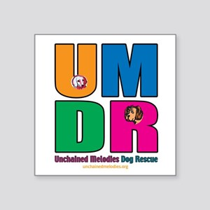 Umdr Colorful Outline Sticker