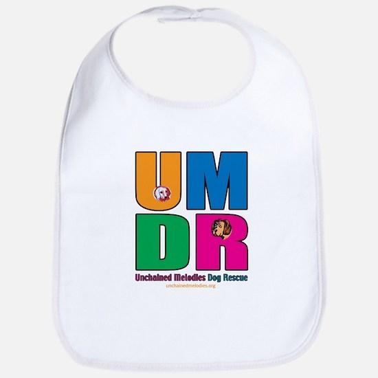 UMDR Colorful Outline Bib