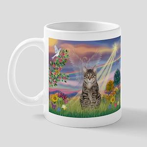 Cloud Star / Tiger Cat Mug