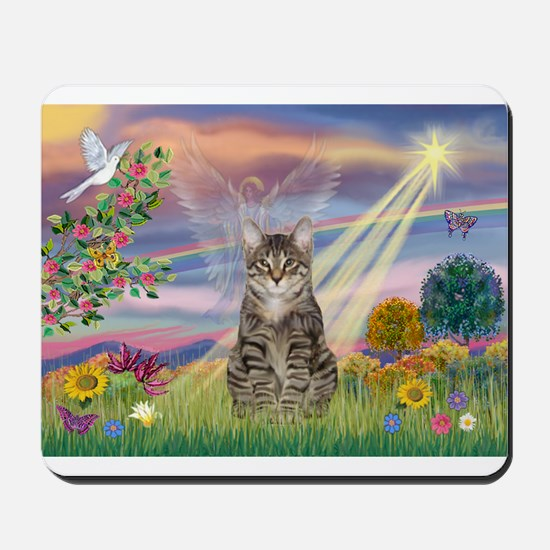 Cloud Star / Tiger Cat Mousepad