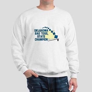 Oklahoma Bag Toss State Champ Sweatshirt