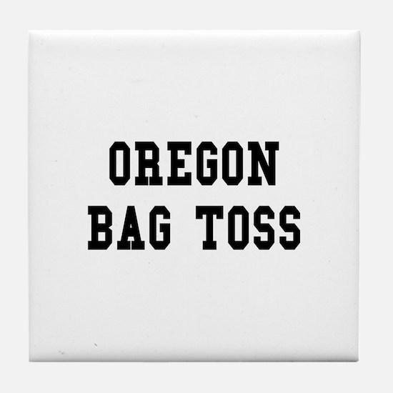 Oregon Bag Toss Tile Coaster