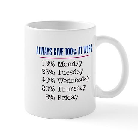 Give 100% - Mug