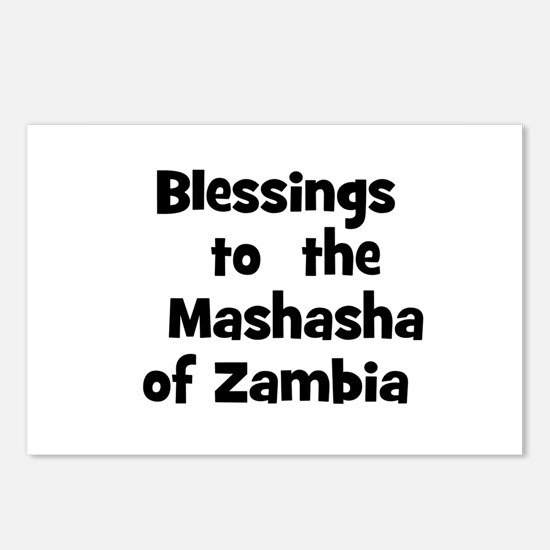 Blessings  to  the  Mashasha  Postcards (Package o