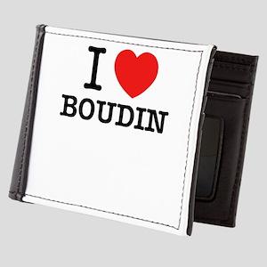 I Love BOUDIN Mens Wallet