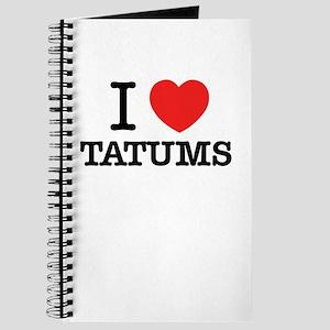 I Love TATUMS Journal