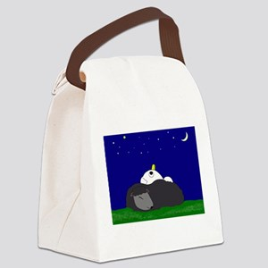 Stargazing with Woolly Pillow Canvas Lunch Bag