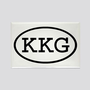 KKG Oval Rectangle Magnet