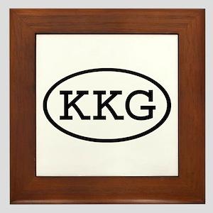 KKG Oval Framed Tile
