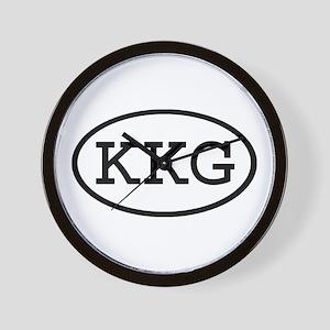 KKG Oval Wall Clock