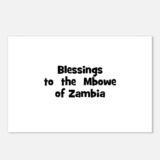 Blessings  to  the  Mbowe of  Postcards (Package o