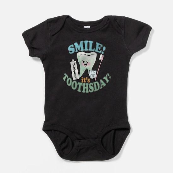 Cute Oral hygiene Baby Bodysuit