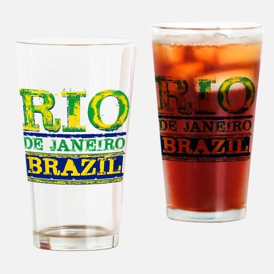 Unique Rio de janeiro Drinking Glass