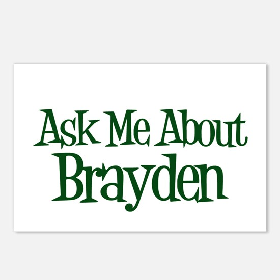 Ask Me About Brayden Postcards (Package of 8)