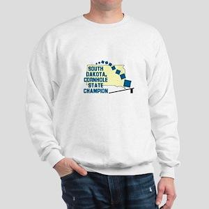 South Dakota Cornhole State C Sweatshirt