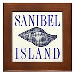 Sanibel Island Shell - Framed Tile