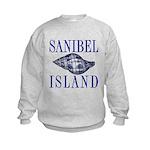 Sanibel Island Shell - Kids Sweatshirt