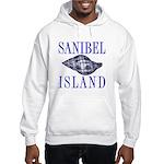 Sanibel Island Shell - Hooded Sweatshirt