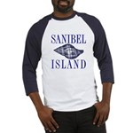 Sanibel Island Shell - Baseball Jersey