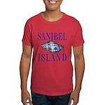 Sanibel Island Shell - Dark T-Shirt