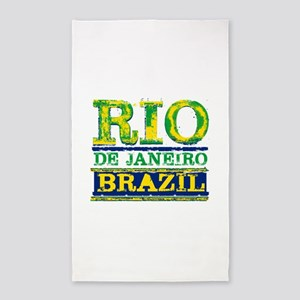 Rio De Janeiro Brazil Area Rug