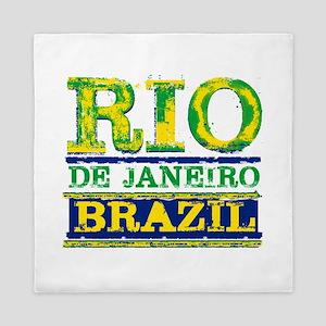 Rio De Janeiro Brazil Queen Duvet