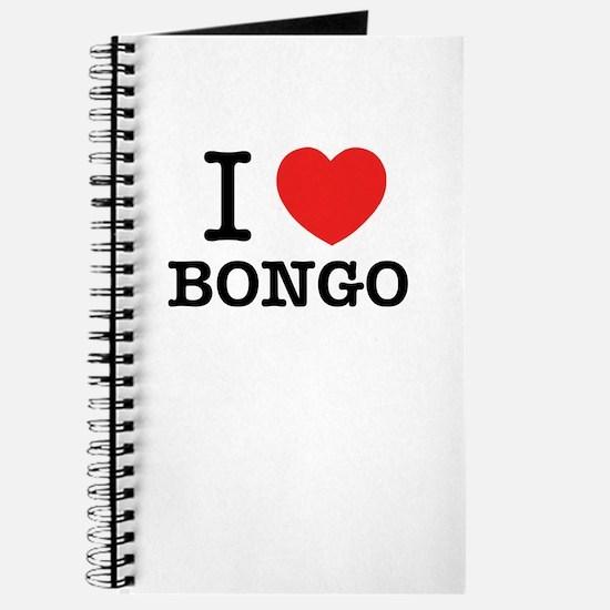 I Love BONGO Journal