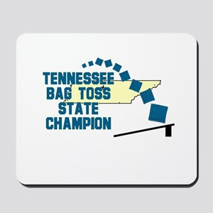 Tennessee Bag Toss State Cham Mousepad