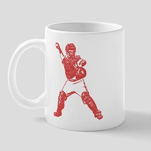 Yadi throwing Mug