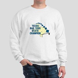 Texas Bag Toss State Champio Sweatshirt