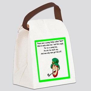 racy limerick Canvas Lunch Bag