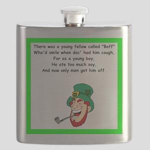 racy limerick Flask