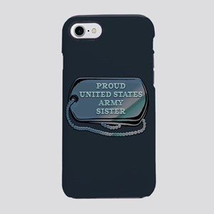 Proud United States Army Sis iPhone 8/7 Tough Case