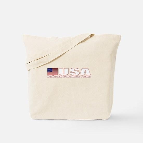 USA National Cornhole Team Tote Bag