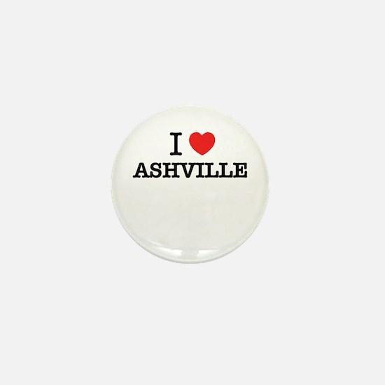 I Love ASHVILLE Mini Button