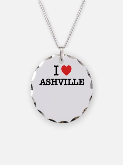 I Love ASHVILLE Necklace