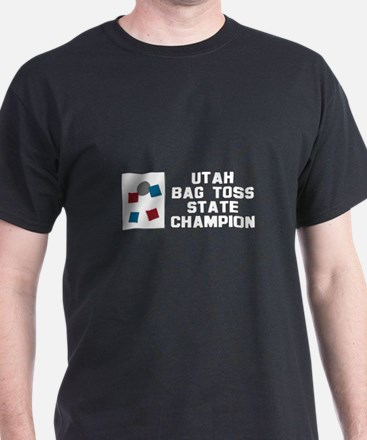 Utah Bag Toss State Champion T-Shirt