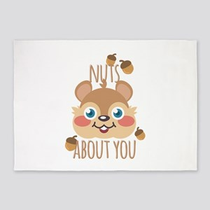 Nuts About You 5'x7'Area Rug