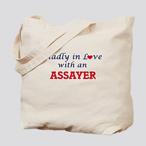 Madly in love with an Assayer Tote Bag