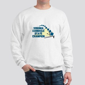 Virginia Cornhole State Champ Sweatshirt