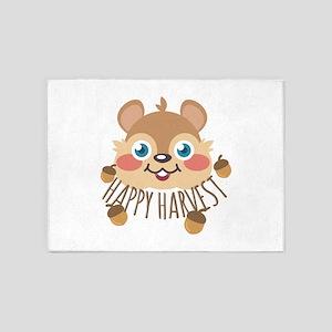 Happy Harvest 5'x7'Area Rug