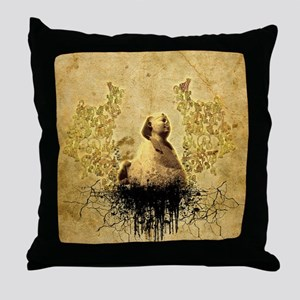 The Sphinx of Giza Throw Pillow