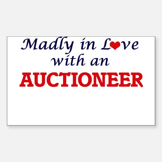 Madly in love with an Auctioneer Decal