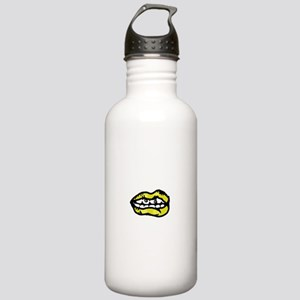 Yellow Lips Stainless Water Bottle 1.0L