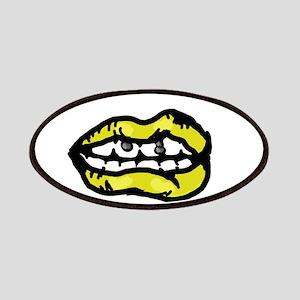 Yellow Lips Patch