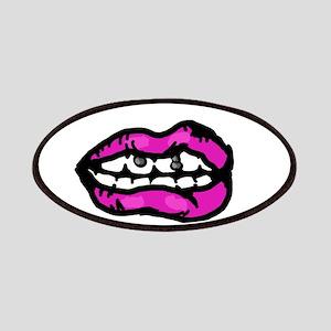 Neon Purple Lips Patch